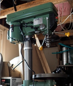 "General 14"" benchtop drill press."
